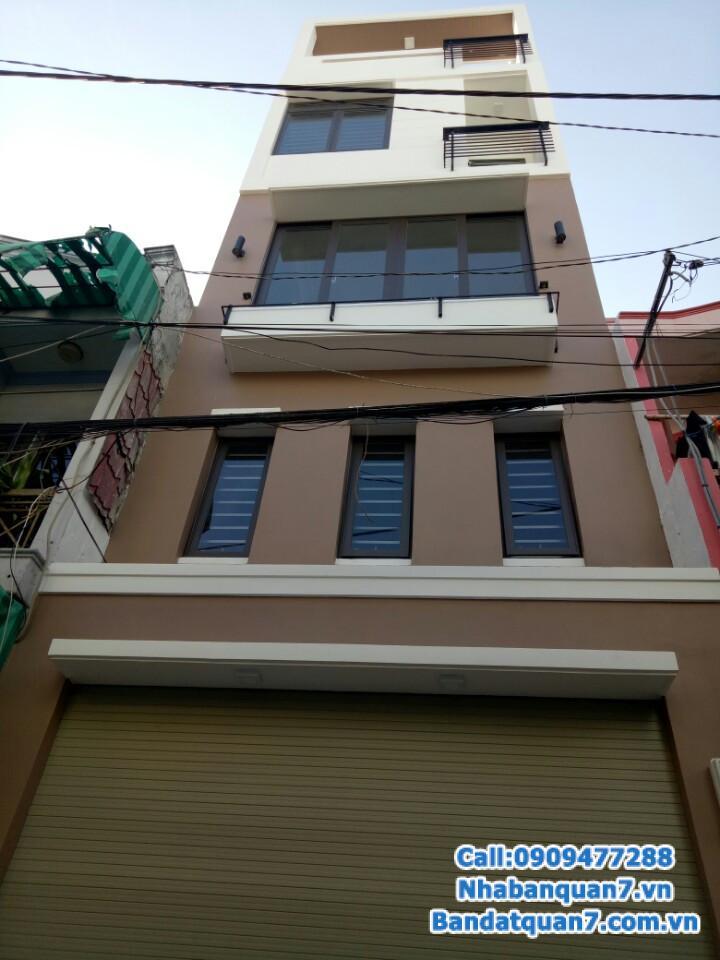 Bán nhà đường số Tân Quy, diện tích 4x8m, giá 3,2 tỷ, LH 0909.477.288