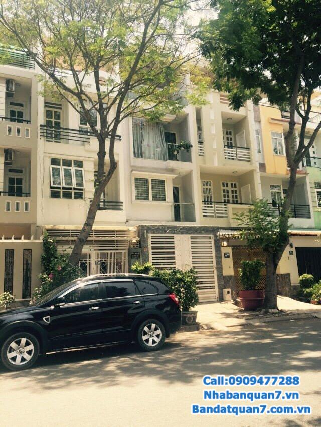 Bán nhà khu An Phú Hưng quận 7, diện tích 4x18m, giá 6,7 tỷ LH 0909.477.288