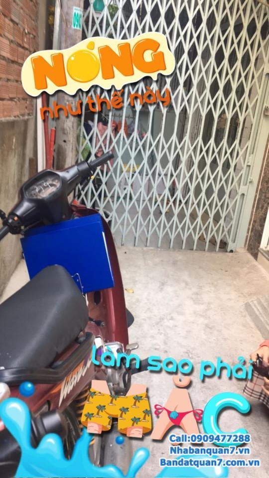 Bán nhà phường Tân Quy hẻm đường Mai Văn Vĩnh, dt 3x9,3m, giá 1,85 tỷ, LH 0909.477.288