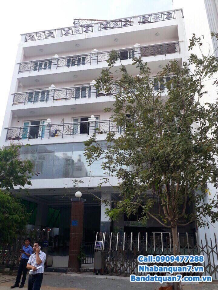 Bán nhà đường số phường Tân Quy, dt 15,5x28m, giá 38 tỷ, LH 0909.477.288