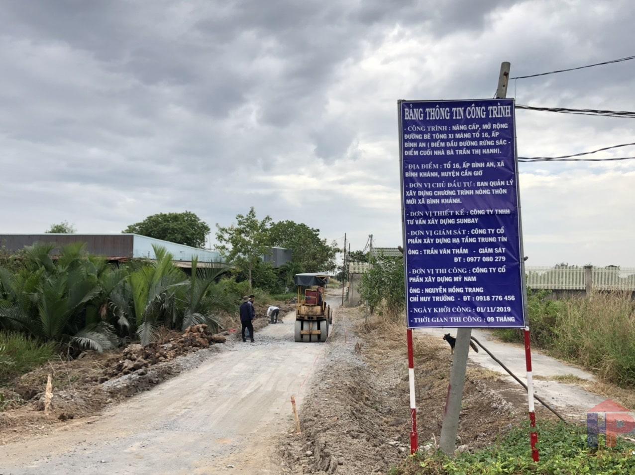 Bán đất tại xã Bình Khánh huyện Cần Giờ, DT 5200m2, giá 2.1Tr/m2
