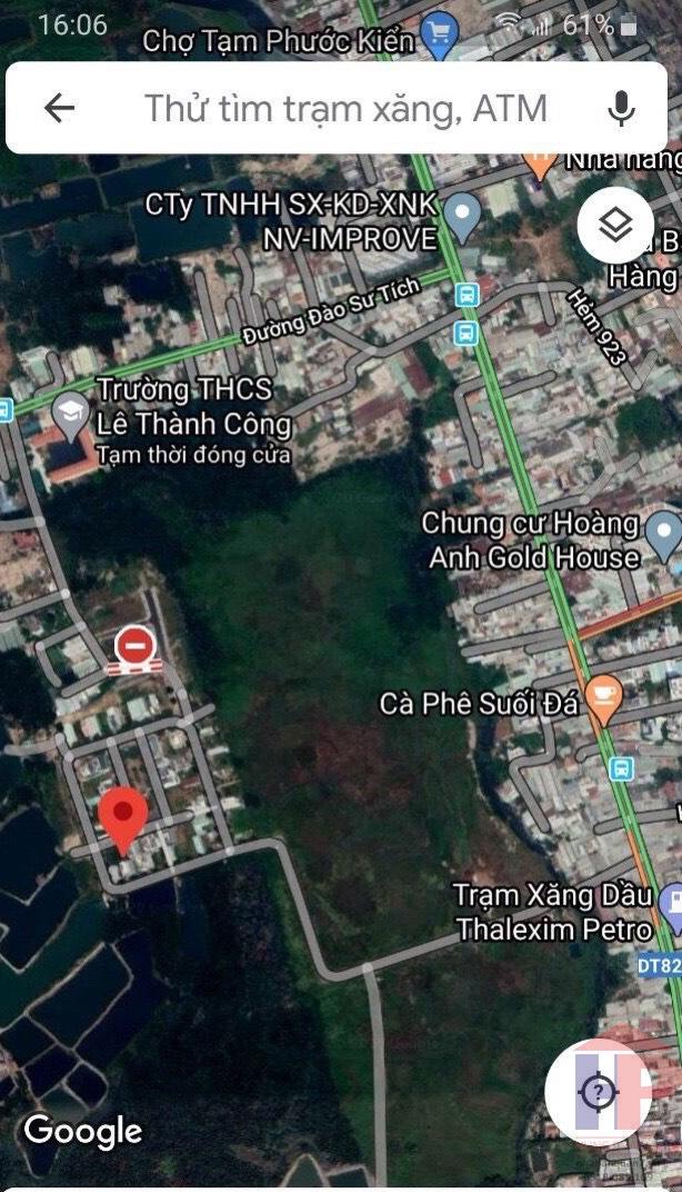 Bán đất Phước Kiển Nhà Bè, DT 6.5x20m, thích hợp xây biệt thự