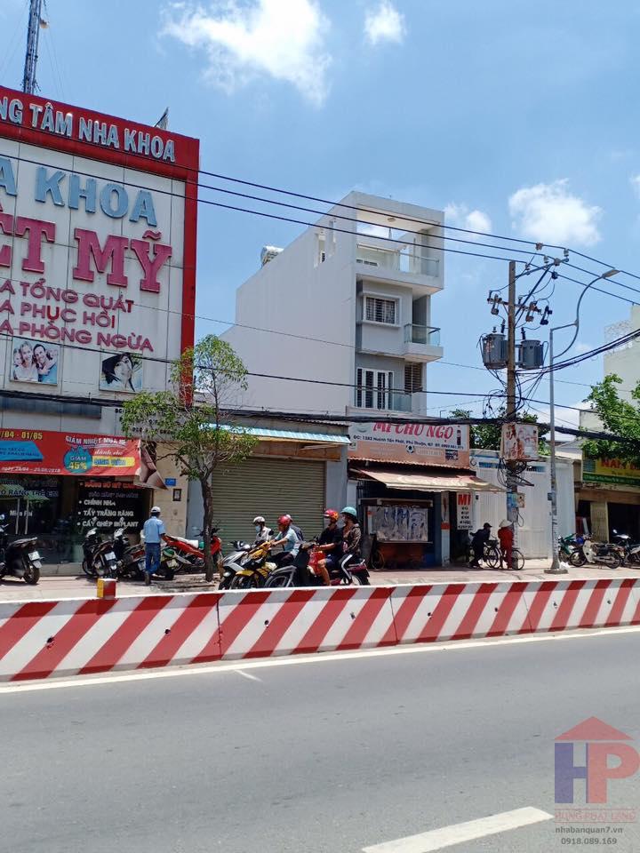 Bán nhà mặt tiền Huỳnh Tấn Phát, Quận 7, P.Tân Phú, DT 5x20m, giá 17.7 tỷ