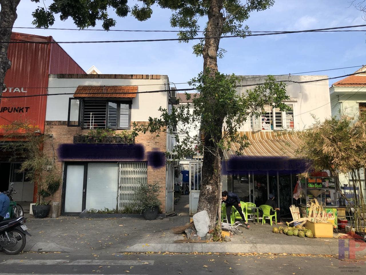 Bán dãy nhà trọ Quận 7, MT đường 65 P.Tân Phong, 10 phòng