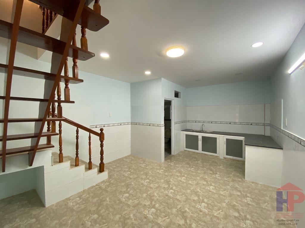 Bán nhà hẻm 502 Huỳnh Tấn Phát Q7, 1 trệt – 1 lầu, DT 4.2x12.5m, giá 4.9 tỷ