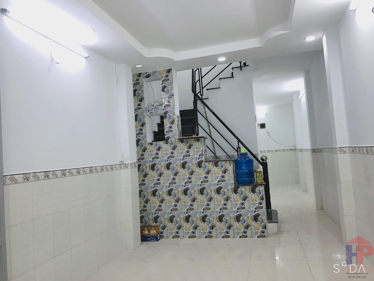 Bán nhà đường Lưu Trọng Lư Quận 7, trệt – 1 lầu, DT 3x12m, giá 3.05 tỷ