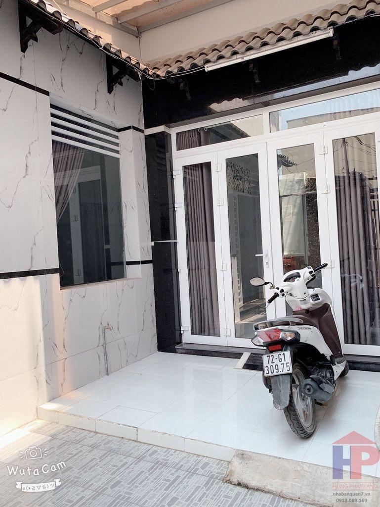 Bán nhà hẻm 630 Huỳnh Tấn Phát Quận 7, trệt – lầu, DT 3.5x12m, giá 3.4 tỷ