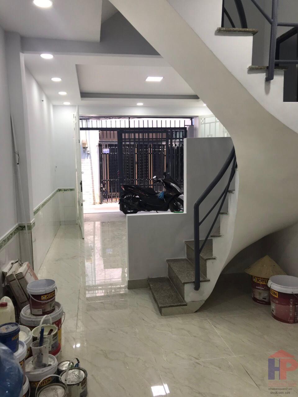 Bán nhà hẻm 487 Huỳnh Tấn Phát Q7, 2 lầu – DT 4x11m, giá 3.68 tỷ