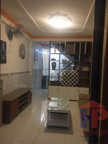 Bán nhà hẻm 487 Huỳnh Tấn Phát Quận 7, 1 trệt -1 lầu, DT 37m2, giá 3.75 tỷ