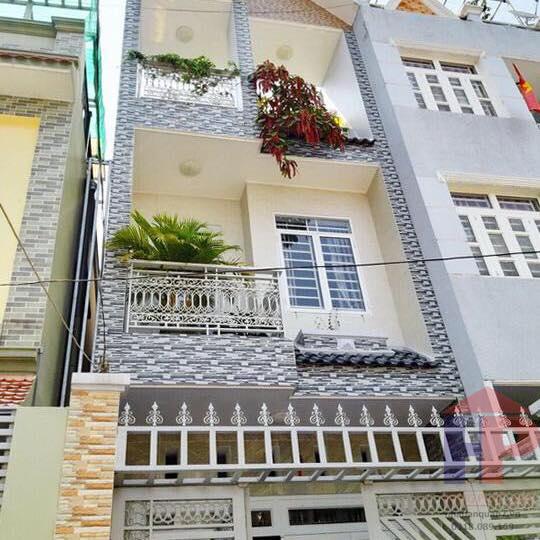 Bán nhà hẻm 803 Huỳnh Tấn Phát Quận 7, trệt – 2 lầu, DT 4x17m, giá 5.9 tỷ