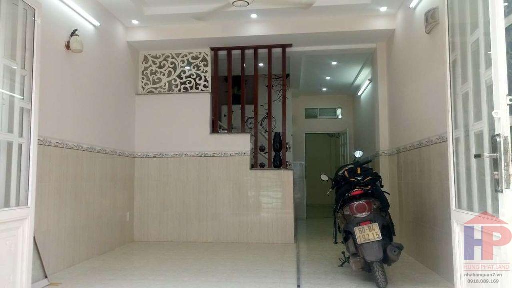 Bán nhà hẻm 861 Trần Xuân Soạn Q7, 3PN – 2WC, DT 4x14m, giá 4.3 tỷ