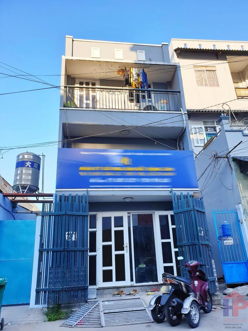 Bán nhà hẻm 719 Huỳnh Tấn Phát Q7, 3PN – 2WC, DT 4x9m, giá 3.7 tỷ