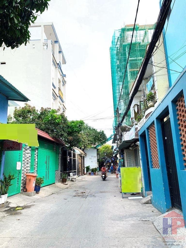 Bán nhà hẻm 458 Huỳnh Tấn Phát Quận 7, 1 trệt – 1 lầu, DT 5.8x12m, giá 5 tỷ