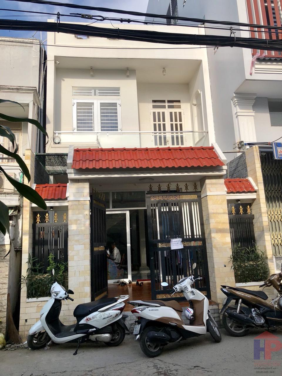 Bán nhà hẻm 88 Nguyễn Văn Quỳ Quận 7, DT 5.2x20.35m, giá 6.3 tỷ