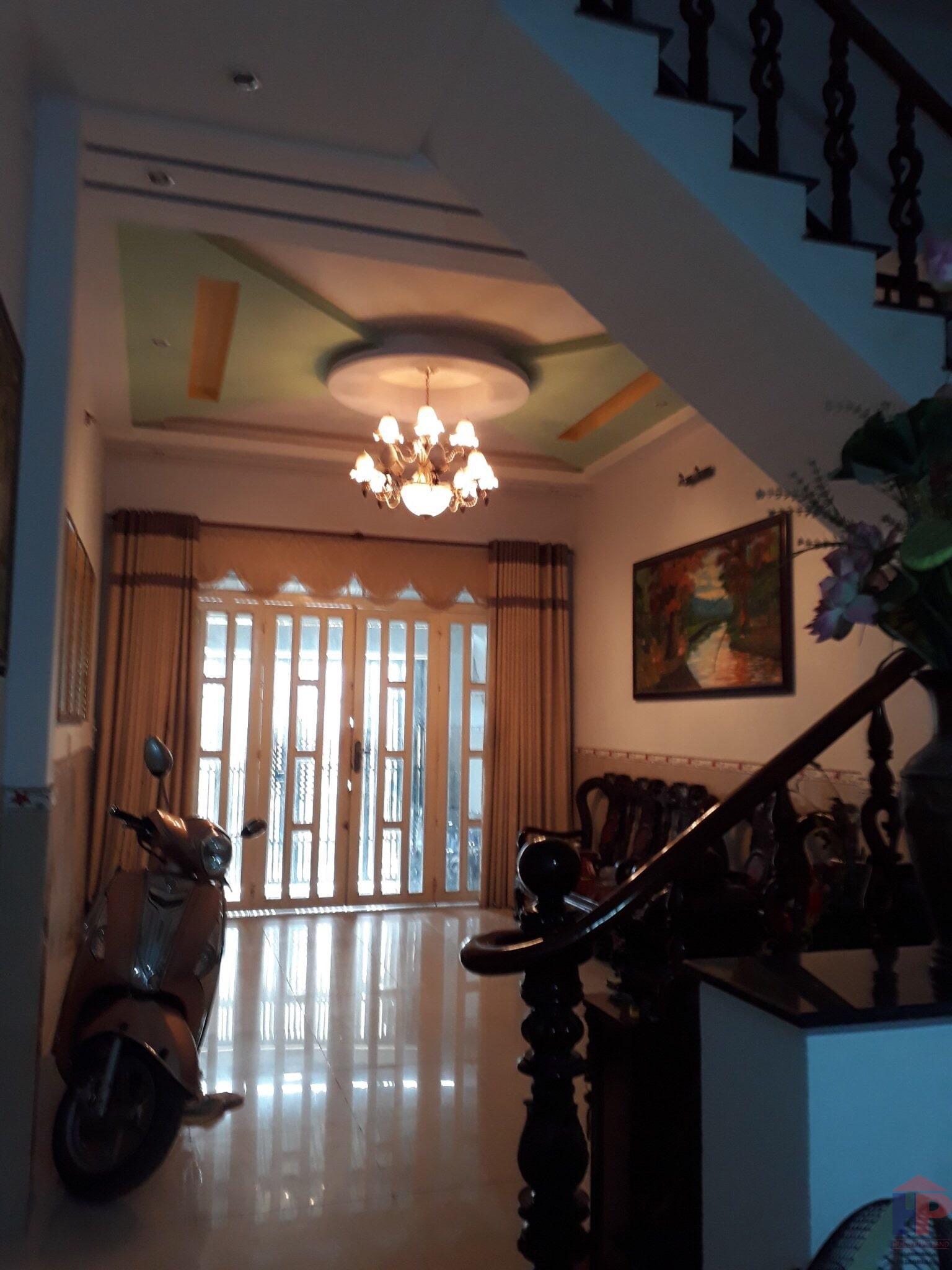 Bán nhà hẻm 749 Huỳnh Tấn Phát Quận 7, trệt – 2 lầu, DT 4x17m, giá 6.5 tỷ