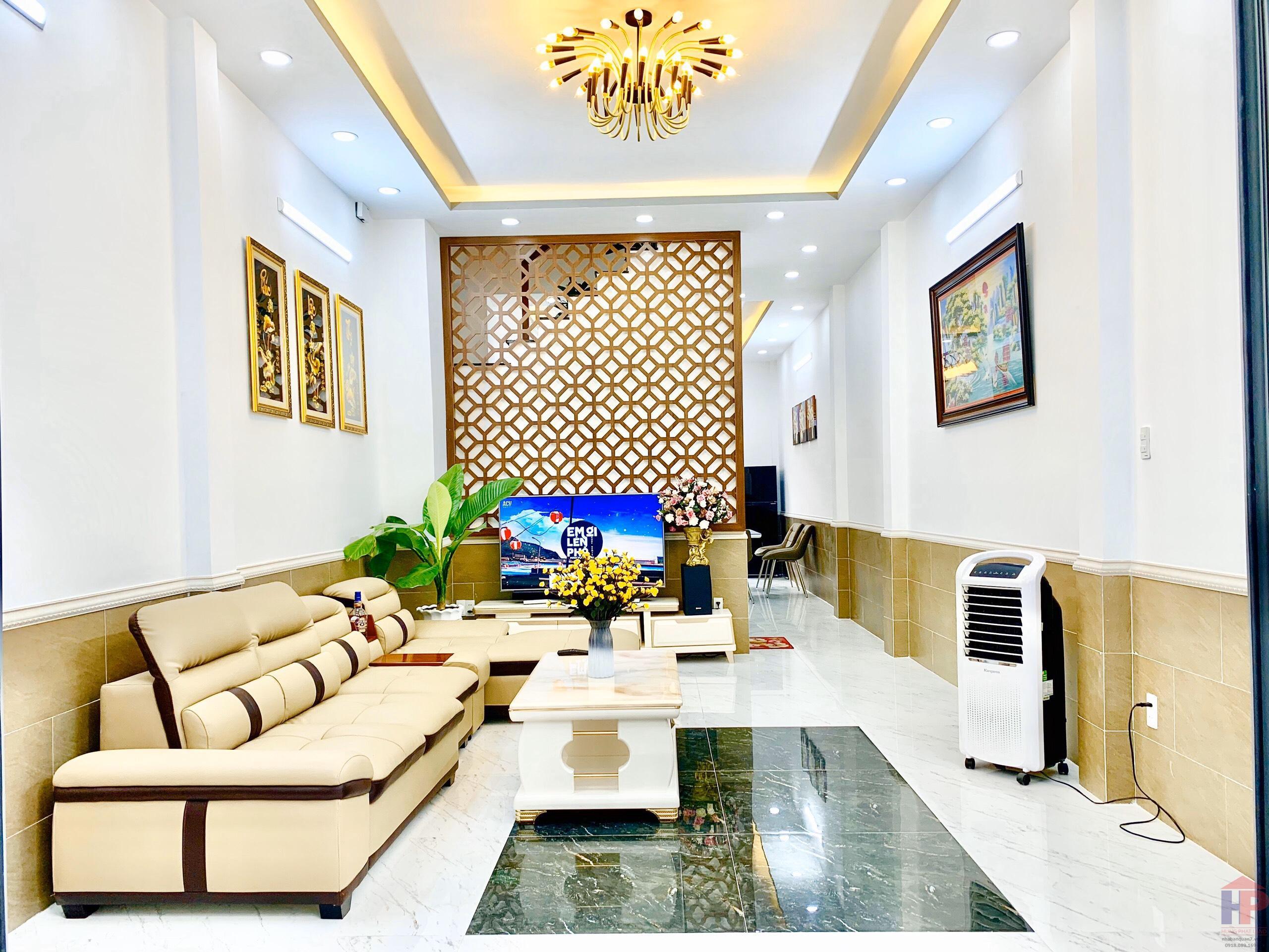 Bán nhà hẻm 98 Bùi Văn Ba Quận 7, 1 trệt – 2 lầu, DT 4.1x16m, giá 5.35 tỷ