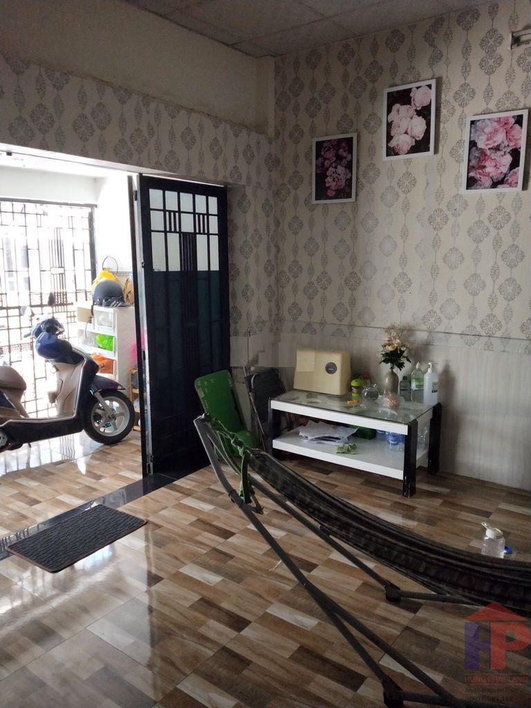 Bán nhà hẻm 851 Huỳnh Tấn Phát Phường Phú Thuận Q7, 2PN - 1WC