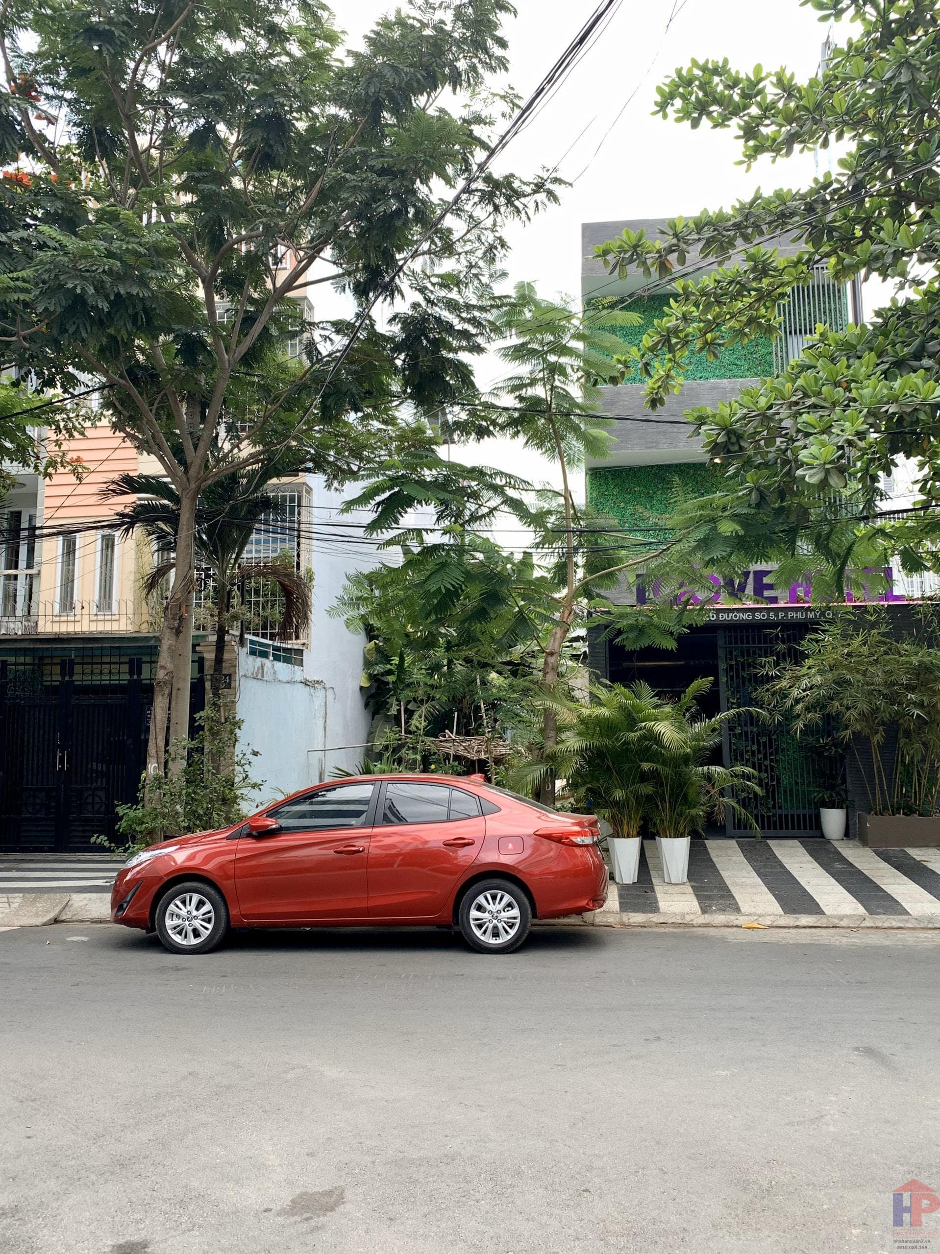 Bán đất phường Phú Mỹ, Quận 7, đường số 5, DT 5x25m, giá 7.9 tỷ