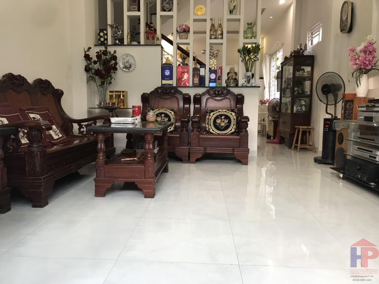 Bán nhà đường Phú Thuận Quận 7, 1 trệt – 2 lầu, DT 4.5x14.5m, giá 6.1 tỷ