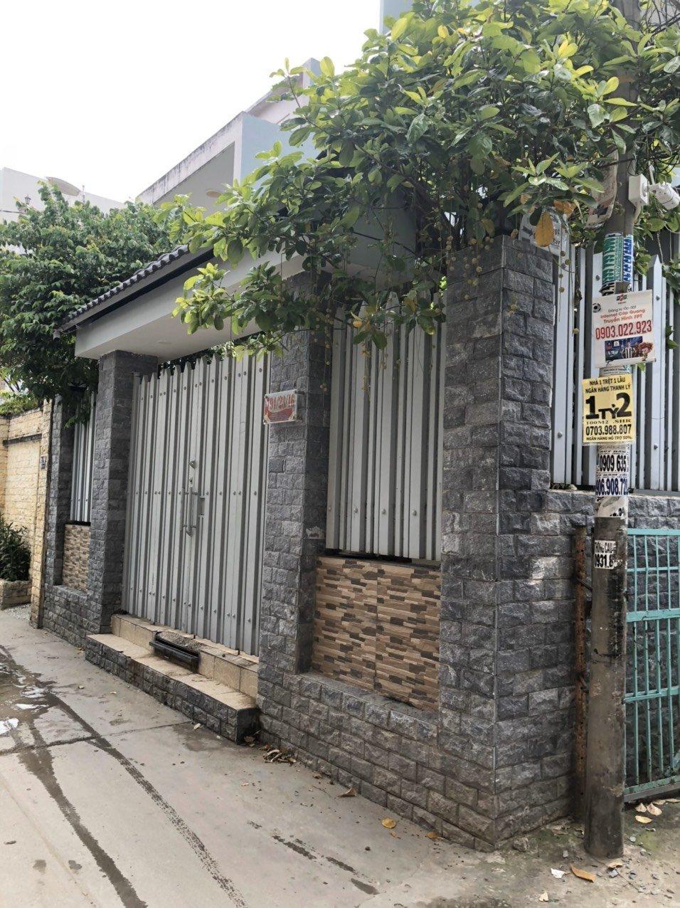 Bán nhà hẻm 264 Lê Văn Lương, nhà cấp 4, DT 75.8m2, giá 4.4 tỷ
