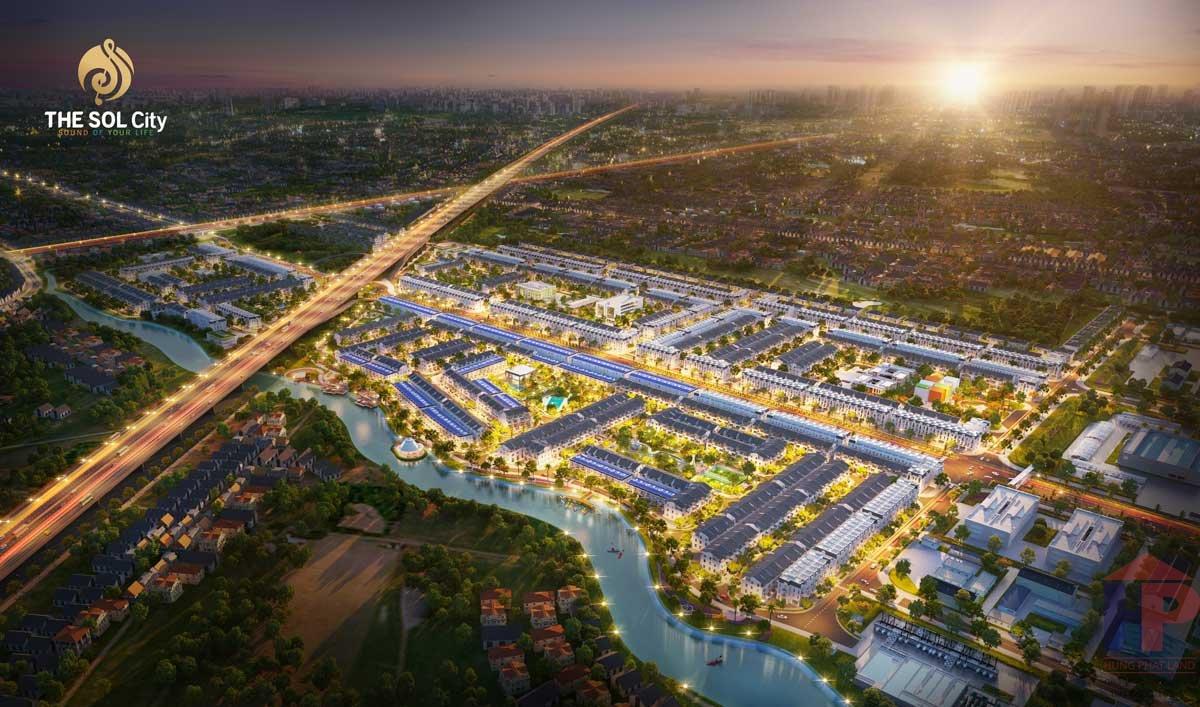 Dự án The Sol City Nam Sài Gòn - Mở Bán phân khu Central Hill