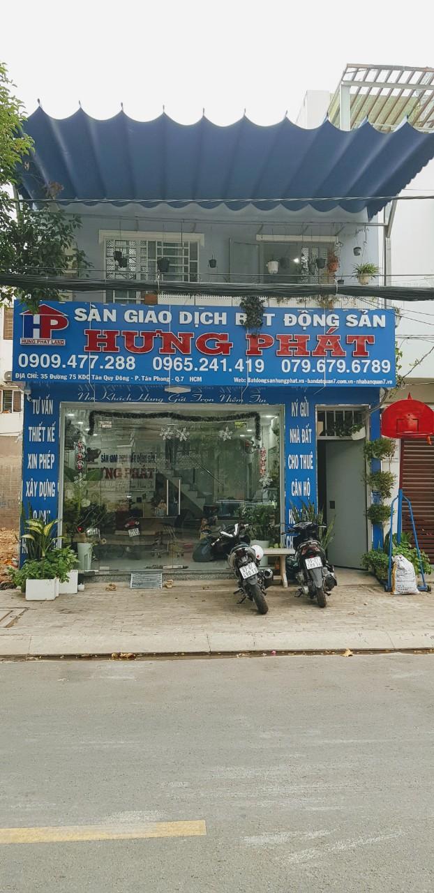 Cho thuê nhà nguyên căn mặt tiền đường 75 phường tân phong Q7 HCM 6x10m giá 20tr