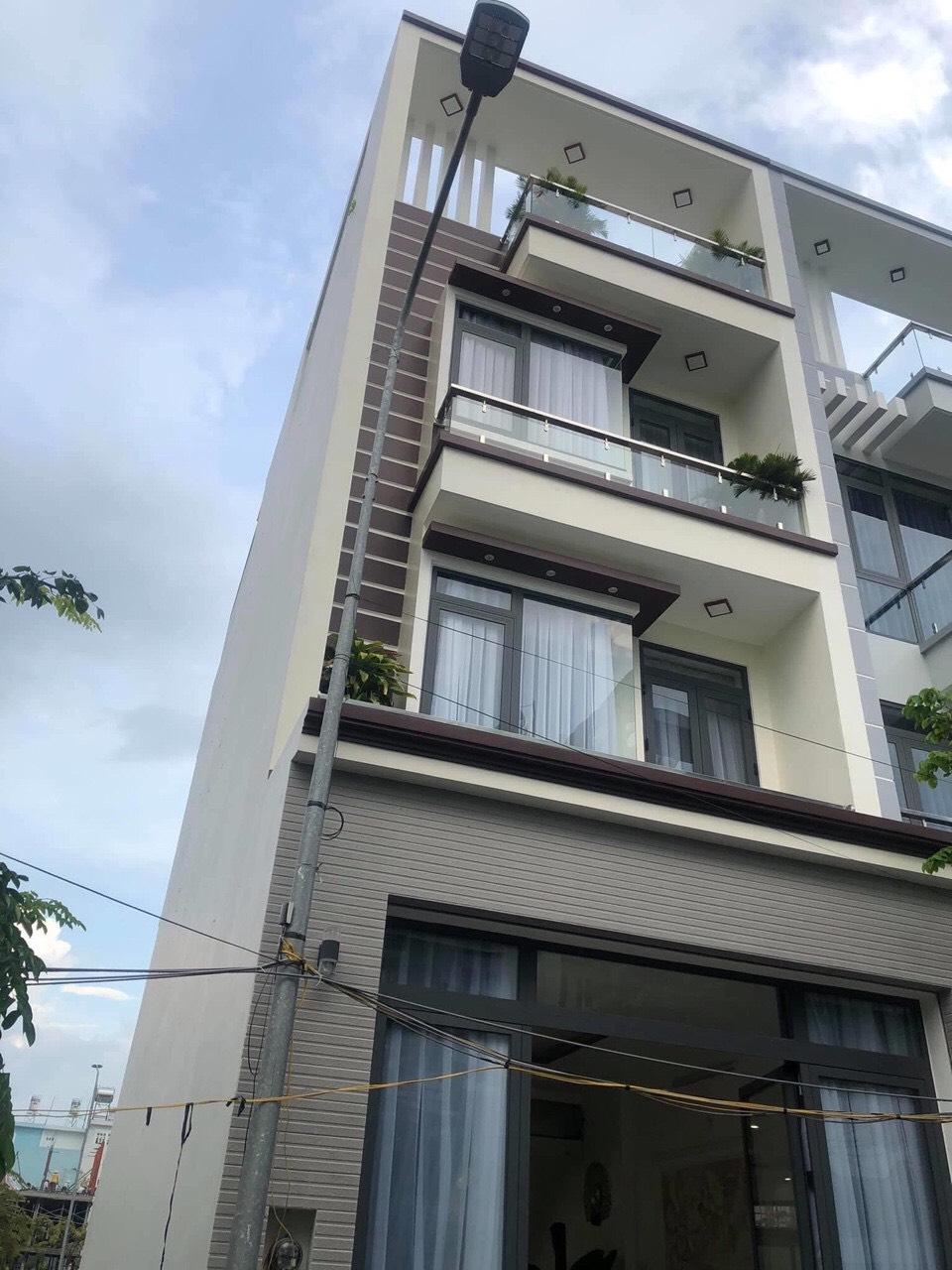 Bán nhà phố liền kề quận Nhà Bè, khu dân cư Anh Tuấn