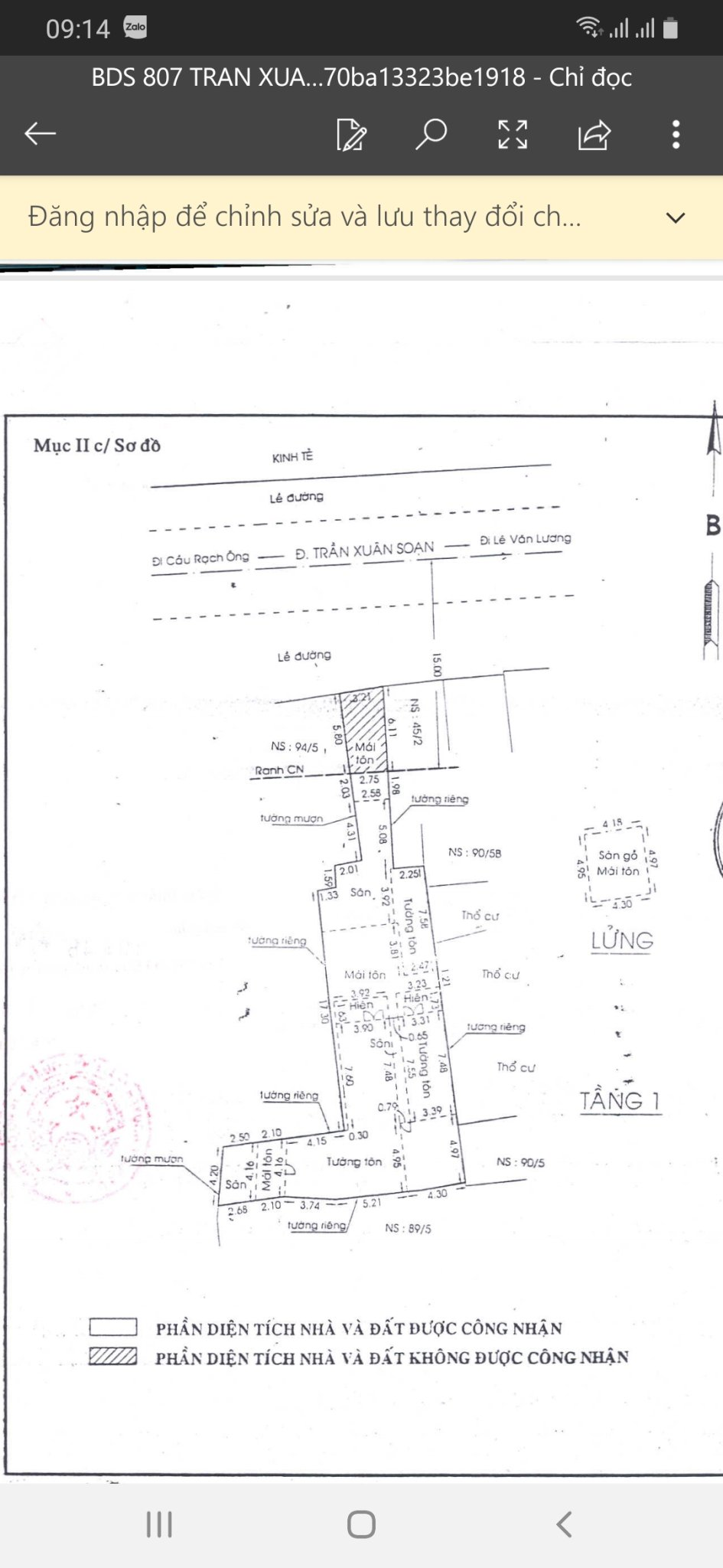 Cần bán nhà đất mặt tiền Trần Xuân Soạn, Tân Hưng, quận 7, hướng bắc. Giá 24 tỷ (TL)