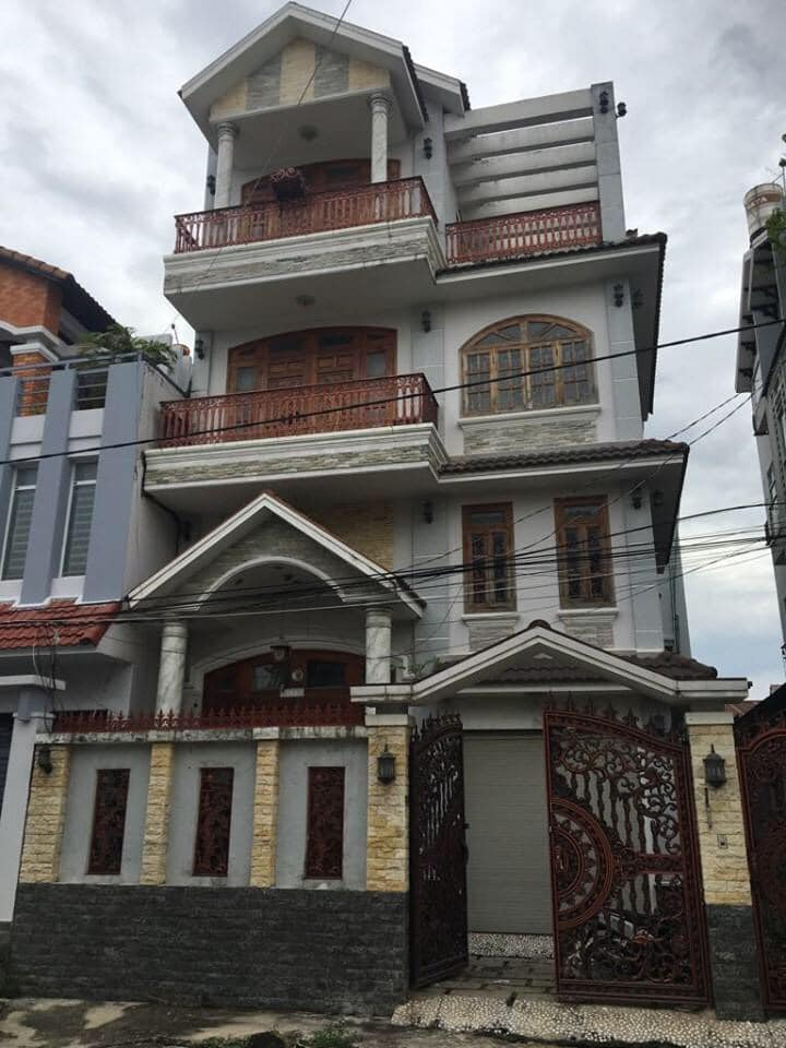 Bán Biệt Thư Khu Bộ Công An 160 Nguyễn Văn Quỳ Q7 LH 0907898478