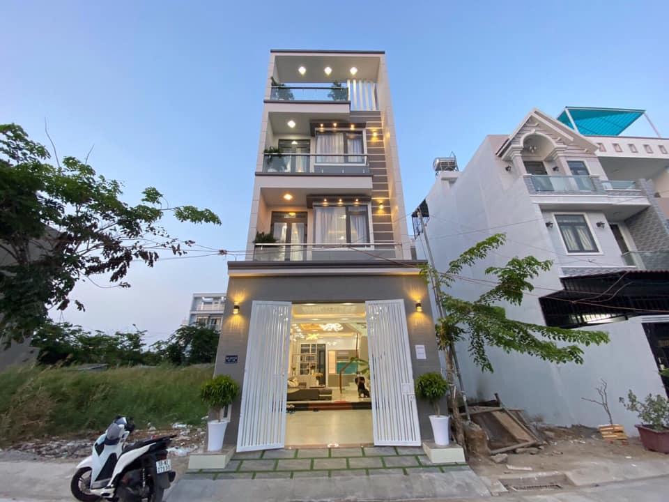 Bán nhà phố khu dân cư anh tuấn green riverside nhà bè dt 80 m2 lh 0907898478