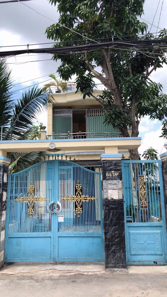 Bán nhà hẻm 64 Đào Tông Nguyên Thị trấn nhà bè dt 85 m2 lh0907898478