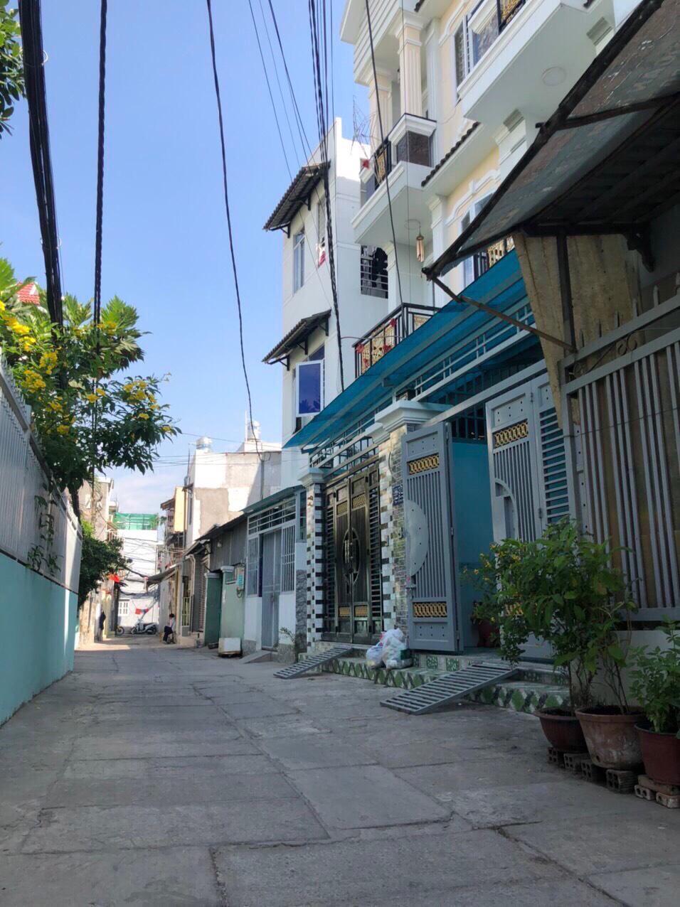 Bán Nhà Hẻm 1247 Huỳnh Tấn Phát Quận 7