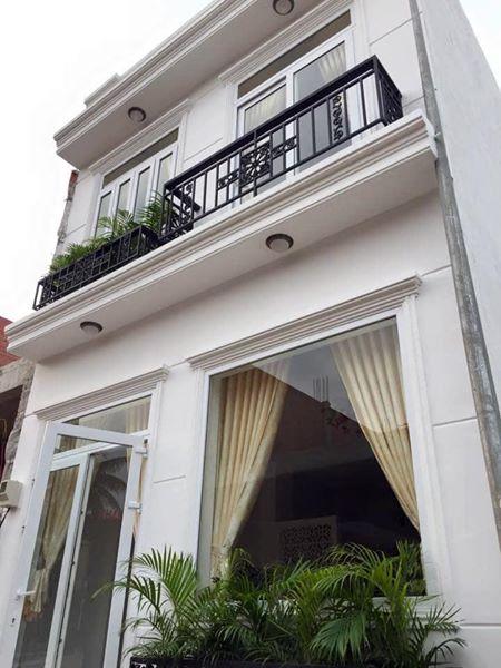 Bán nhà hẻm đường Tân Mỹ phường tân phú quận 7 dt 85 m2 lh 0909645116