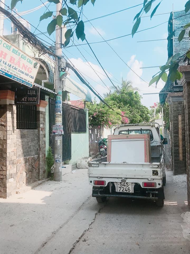 Bán nhà hẻm xe hơi 1716 huỳnh tấn phát TT nhà bè