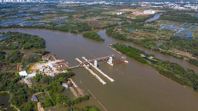 Công trình chống ngập 10,000 tỷ của TP.HCM sắp hoàn thành