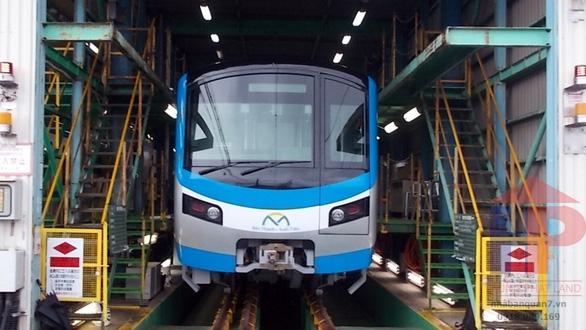 Tuyến Metro số 1 Bến Thành – Suối Tiên sẽ chạy thử vào quý III/2020