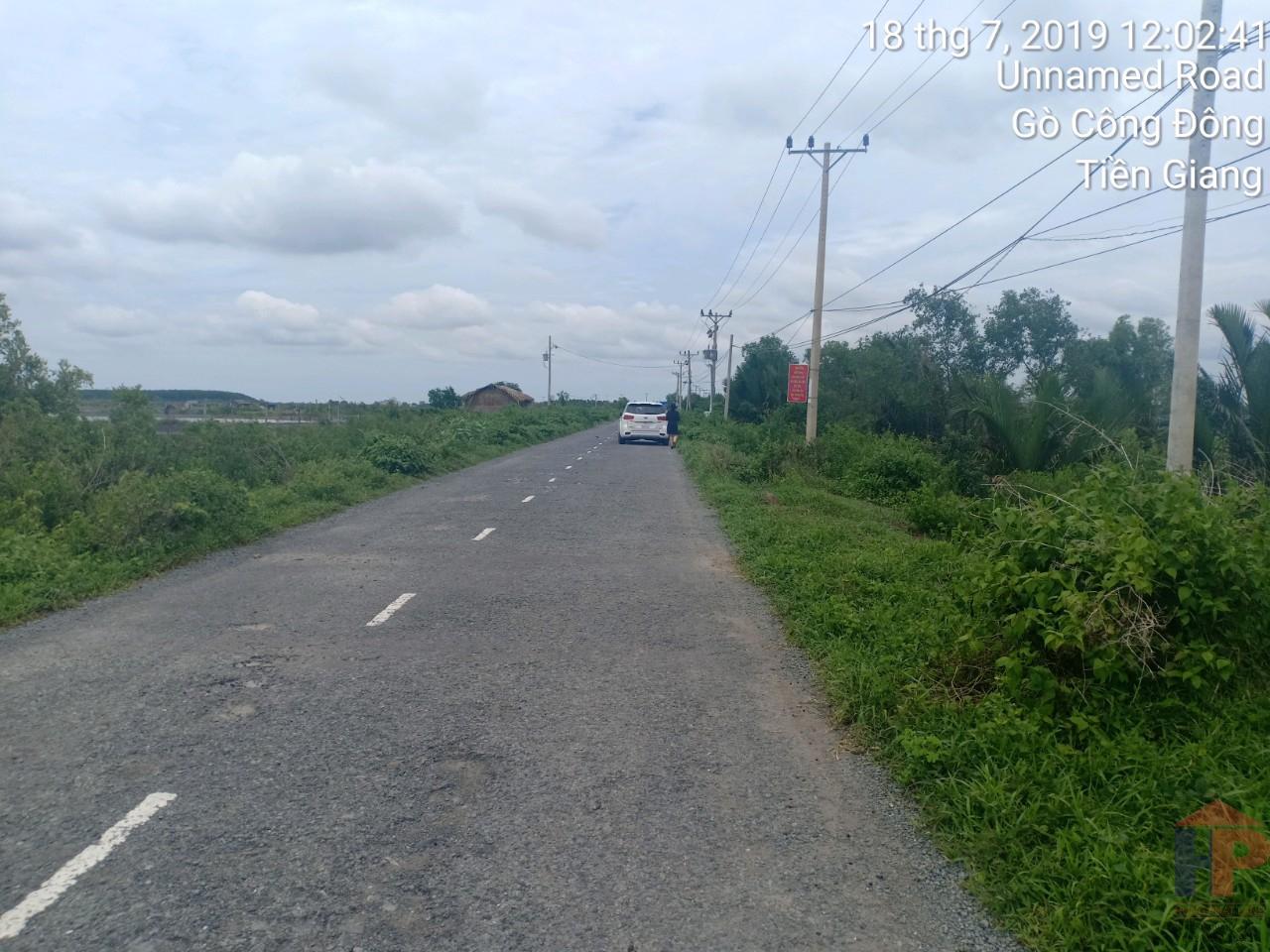 Bán đất mặt tiền đường Lý Nhơn cần giờ DT 4143m2 Giá 4.3 tỷ LH 0909477288