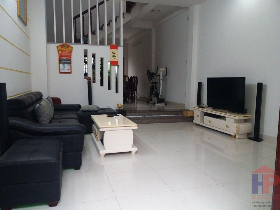 Bán nhà hẻm 1113 Huỳnh Tấn Phát, phường Phú Thuận, quận 7 DT 4,7m x 17m Giá 5.3 tỷ LH 0909477288