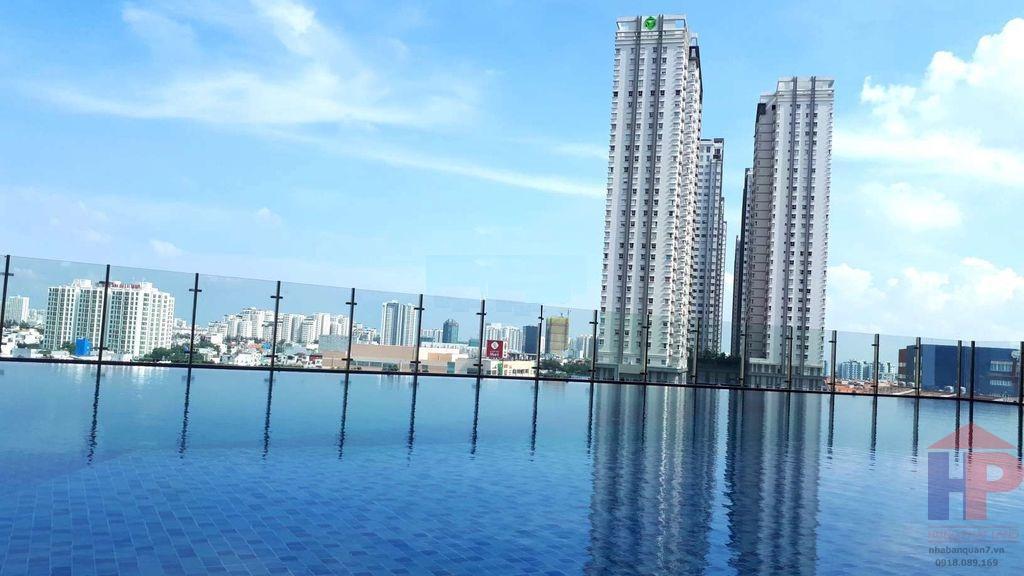 Cho thuê Officetel Sunrise City View Nguyễn Hữu Thọ, Phường Tân Hưng DT 52m2 Giá thuê: 14 tr/th thương lượng LH 0909477288
