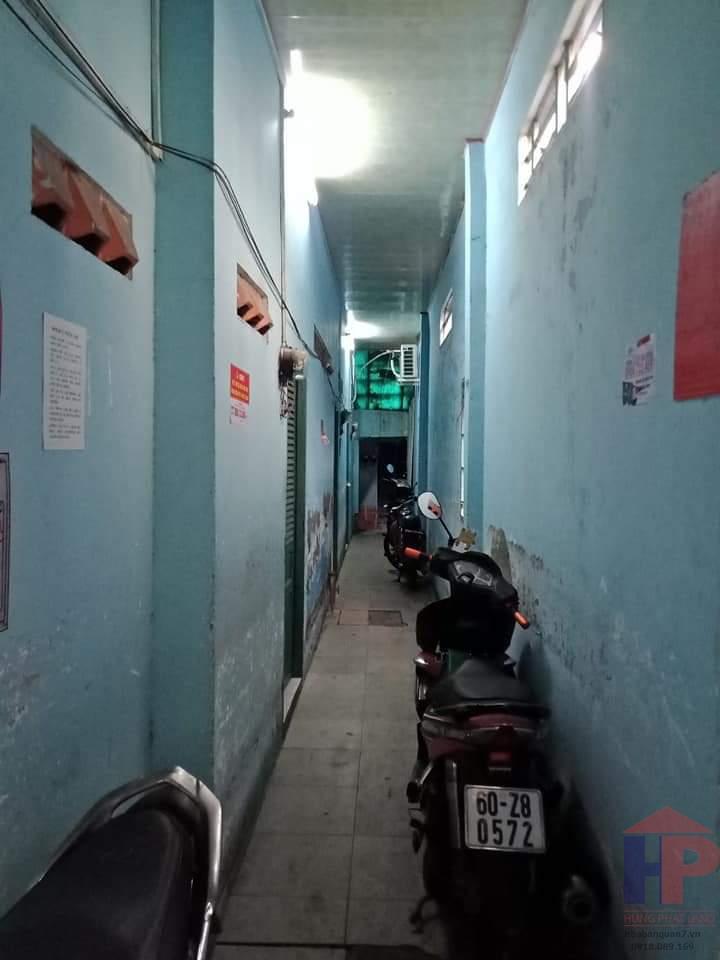Bán dãy trọ 14 phòng hẻm 116 Huỳnh Tấn Phát, Phường Tân Thuận Tây DT 133m2 Giá 5,5 tỷ LH 0909477288