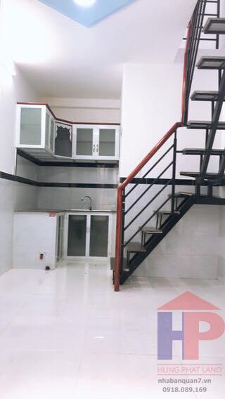 Bán nhà nhỏ hẻm 1248/30 huỳnh tấn phát, phường Tân Phú, Quận 7 DT 3 X 5 Giá 990tr LH 0909477288