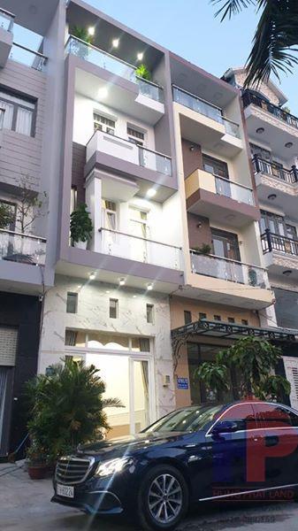 Bán nhà Huỳnh Tấn Phát, thị trấn Nhà Bè, huyện Nhà Bè DT 4 x 16m Giá 6.9 tỷ LH 0909477288