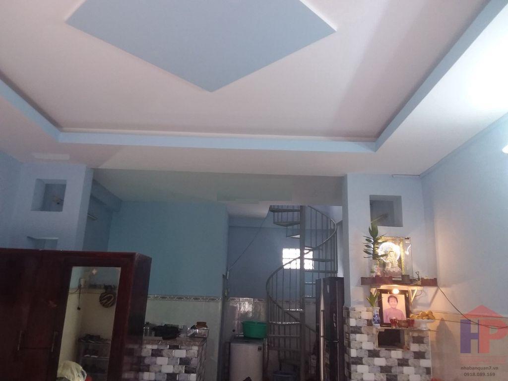 Bán nhà hẻm 1283 Huỳnh Tấn Phát, Phường Phú Thuận DT 4x9 Giá 2.9 tỷ LH 0909477288