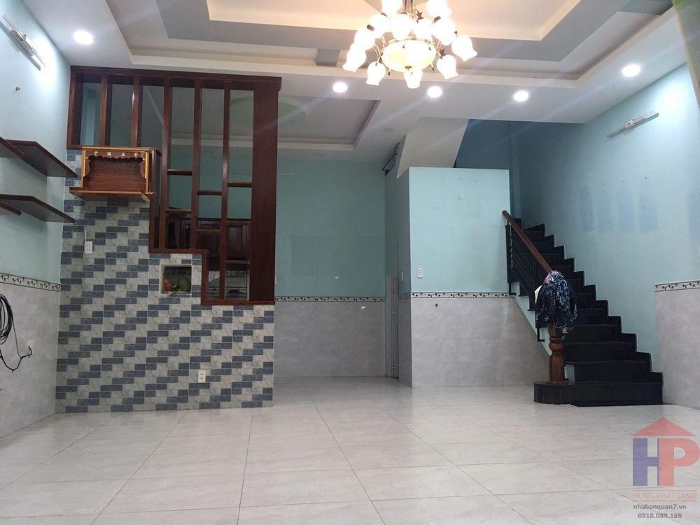 Bán nhà hẻm Lý Phục Man, Phường Bình Thuận, Quận 7 tổng DTD là 6x10 và DTSD 120m2 Giá: 4.9 tỷ thương lượng LH 0909477288
