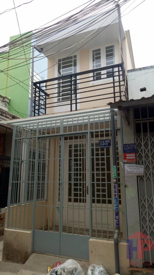Bán nhà hẻm Phạm Hữu Lầu Quận 7 DT 3x10 Giá 1.65 tỷ thương lượng LH 0909477288