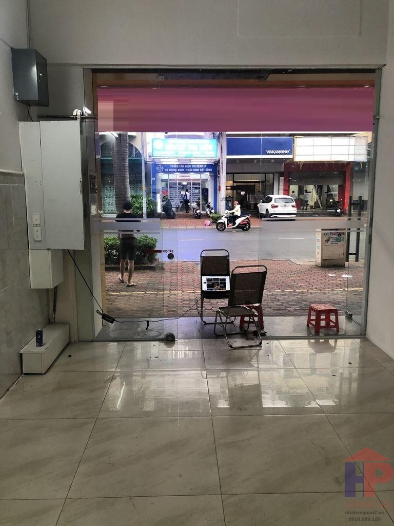 Cho thuê mặt bằng tầng trệt Trần Trọng Cung, KDC Nam Long, Phường Tân Thuận Đông 125m2 (5x25) 23 tr/th thương lượng LH 0909477288