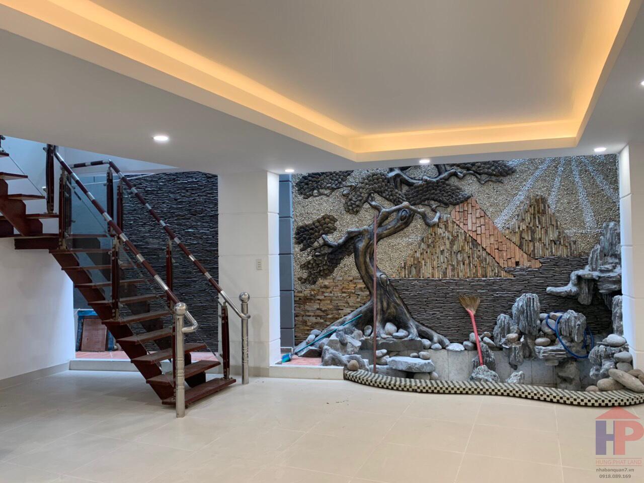 Bán nhà hẻm nội bộ Huỳnh Tấn Phát, Phường Tân Thuận Tây DT 120m2 Giá 8 tỷ LH 0909477288