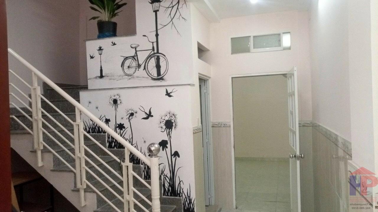 Bán nhà hẻm 903 Trần Xuân Soạn Quận 7, 1 lầu - 3PN - 2WC