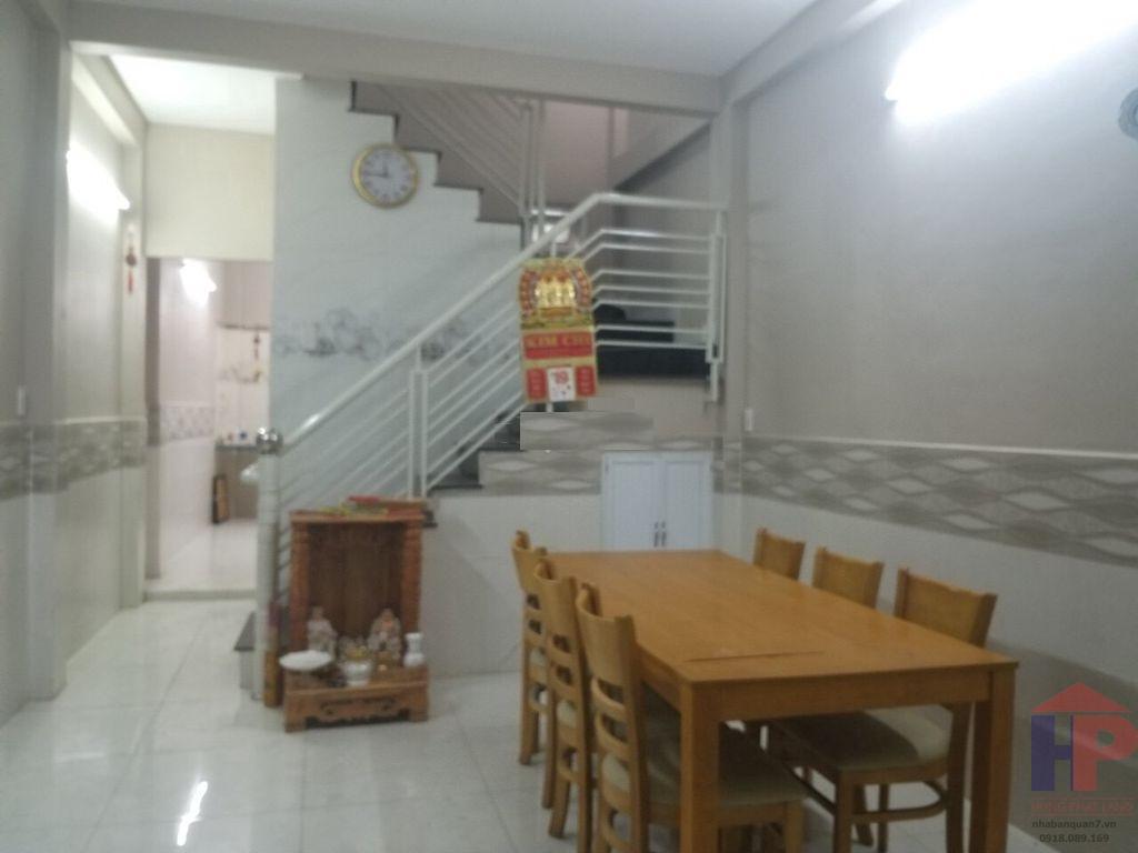 Bán nhà hẻm 167 Huỳnh Tấn Phát, phường Tân Thuận Đông quận 7 Ngang 4x10 Giá: 3.6 tỷ thương lượng LH 0909477288