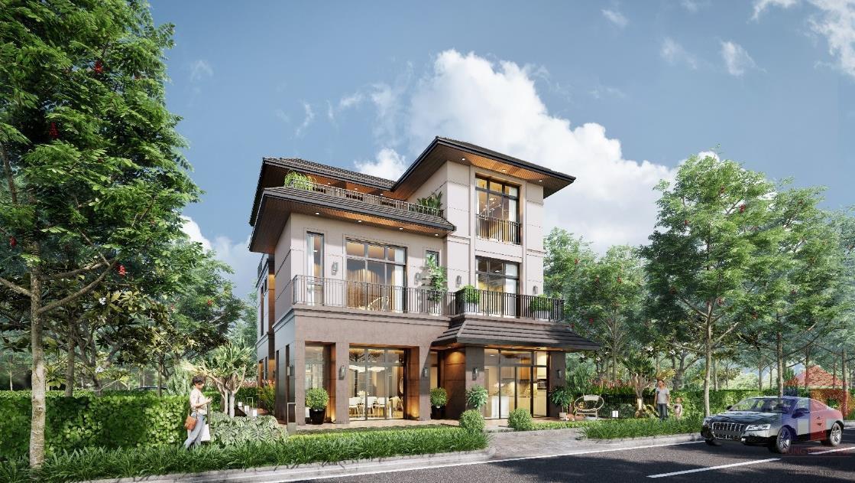 Bán nhà phố Zeitgeist Xii Nhà Bè  DT 7 x 17m Giá 10.8 tỷ LH 0909477288